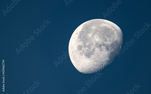 Obraz na płótnie Księżyc na tle nocnego nieba