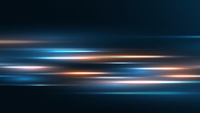 High Speed Technology Background Speed Movement Motion Blur Background.