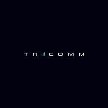Modern And Futuristic Tricom Logo