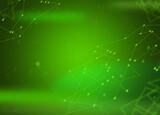 Fototapeta Fototapety do łazienki - Zielone tło, komunikacja, łączenie