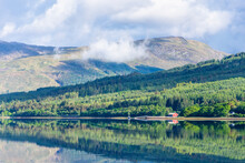 Moored At Loch Linnhe