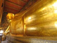 Wat Pho Bouddha Couché Bangkok Thaïlande