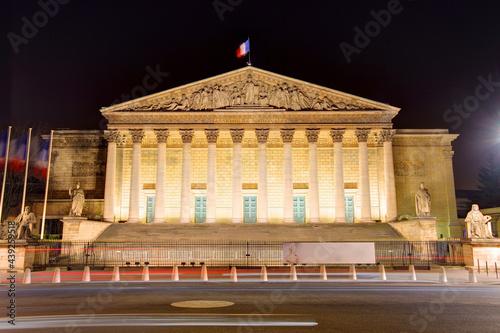 Fototapeta French National Assembly, Paris, France
