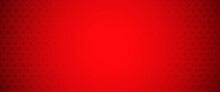 Abstract Red Dotted Banner Background
