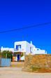 Leinwandbild Motiv Beautiful street view at Mykonos isalnd Greece Cyclades