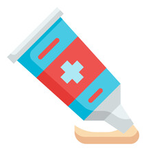 Ointment Flat Icon