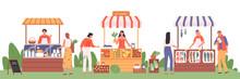 Eco Market Illustration