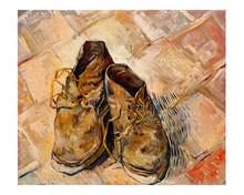 Shoes (1888) By Vincent Van Gogh.