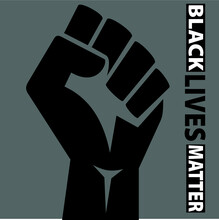 Black Lives Matter Vector That Could Be Used For Flyers, Posters, Shirts, Anything You Could Think Of.