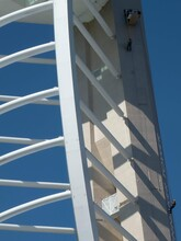 Abseiling Down The Spinnaker Tower Portsmouth England