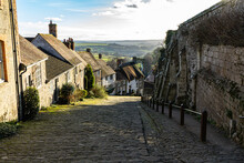 Gold Hill Street In Shaftesbury