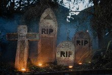Halloween Decor Gravestones