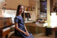 Portrait Of A Young Classical Musician
