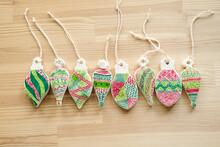 Christmas Doodle Ornaments