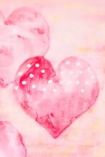 Heart Watercolor Art