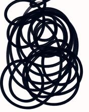 Tangled Black Line Design