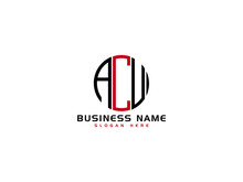 Letter ACU Logo Icon Vector Image Design For All Business