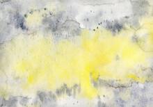 Yellow And Grey Art