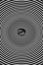 Human Eye In Spiral
