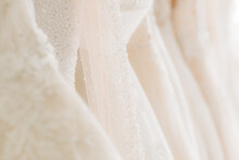 Clean And Airy Fabric For Wedding Dresses