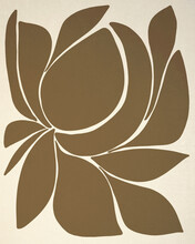 Modern Abstract Floral Design