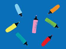 Color Magic Marker Pattern