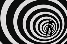 Woman In Spiral