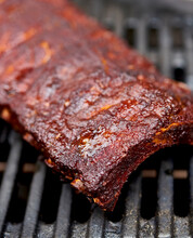 Grilled Barbecue Ribs