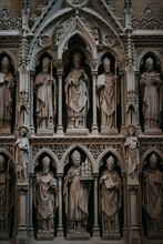 Religious Statues In Church