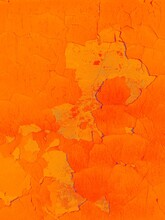 Abstract Pattern - Old Wall With Marigold Toning