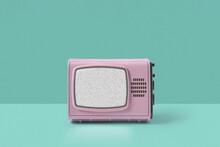 Retro TV With Noise