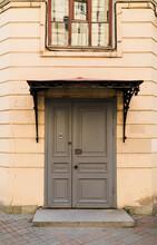 Old Grey Door