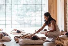 Calm Trainer Helping People With Sleep Yoga