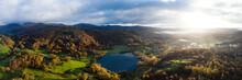 Loughrigg Tarn In Autumn In The Lake District