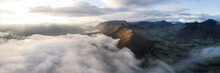 Cat Bells On A Misty Winter Morning Lake District