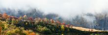 Albiez-Montrond Rhone Alps Mountains France Autumn