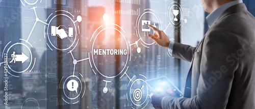 Foto Mentoring Motivation Coaching Career Business Technology concept