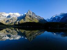 Mountain Scenery At Lac D'Arpitetta
