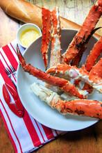 Bowl Of Crab Legs