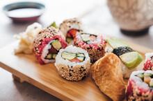 Food: Vegan Sushi Rolls