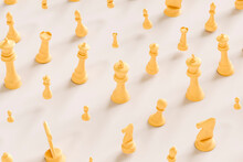 Pattern Of Chess Pieces