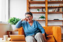 A Lifestyle Of A Senior Woman