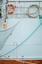 Fishing Boat Deck Detail