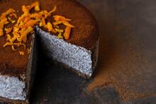RAW VEGAN POPPYSEED CAKE