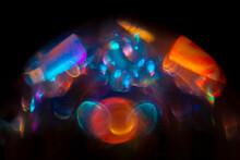 Jewel Light, Colourful Light Through Crystal