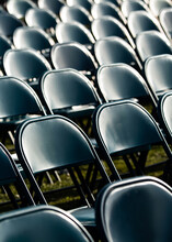 Empty Graduation Chairs