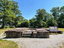 Church Ruins At Ens In Schokland A Former Island