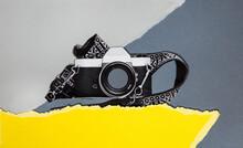 Retro Camera Collage
