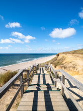 Path To The Beach, North Sea Coast, Sylt, Schleswig-Holstein, Germany