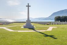 Allied War Cemetery. Suda Bay. Crete. Greece.